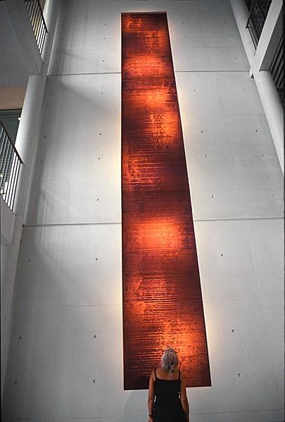 Byåsen videregående skole, Trondheim, 2004, 1.20m (b) x 9.00m (h)